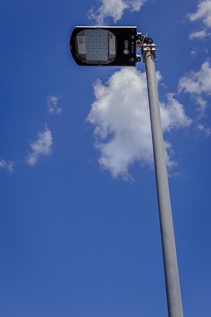 LED Streetlight Installation