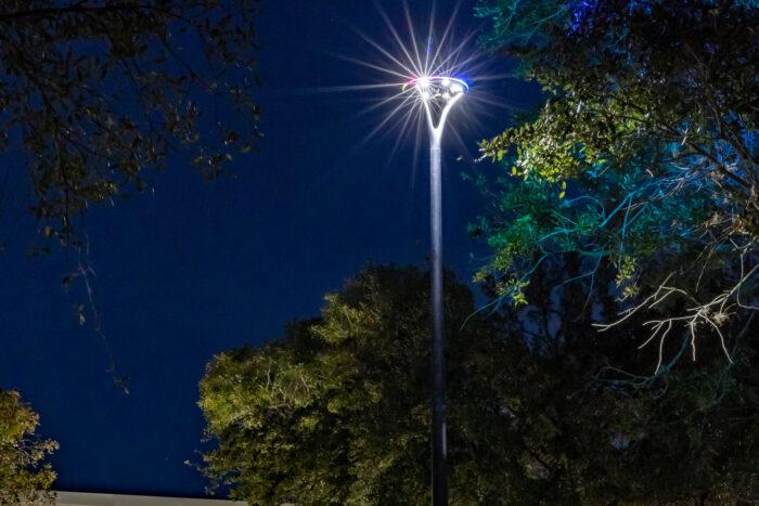 Pole top led streetlight